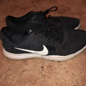 NIKE Black Training Sneakers